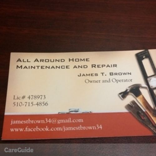 Handyman Provider James Brown's Profile Picture