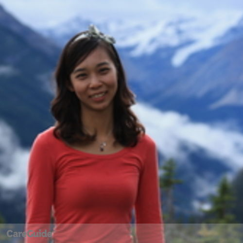 Canadian Nanny Provider Yiying Pan's Profile Picture
