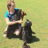 Fun-loving pet sitter