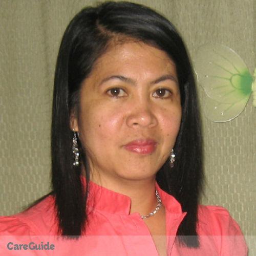 Canadian Nanny Provider Marieta Dutdut's Profile Picture