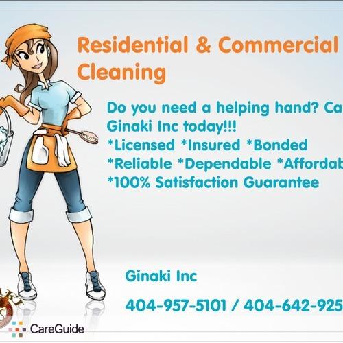 Housekeeper Provider Ginaki I's Profile Picture