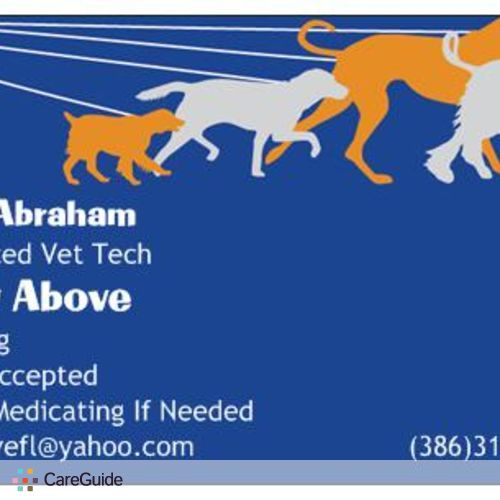 Pet Care Provider Alexis Abraham's Profile Picture