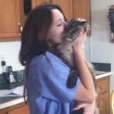 Veterinary assistant animal caretaker