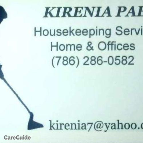 Housekeeper Provider Kirenia Paez's Profile Picture
