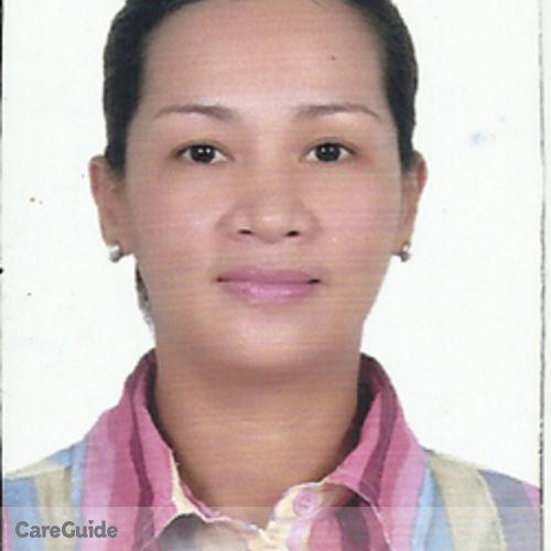 Canadian Nanny Provider Rosalie Davila's Profile Picture
