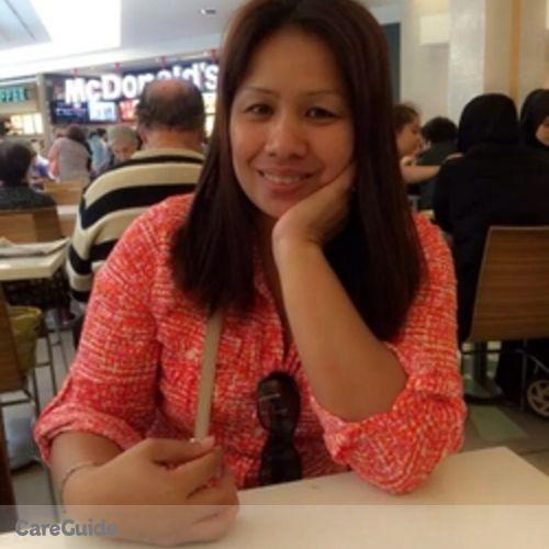 Canadian Nanny Provider Marichu E's Profile Picture