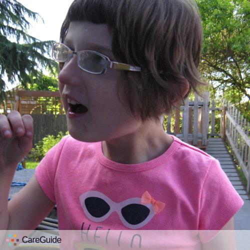 Child Care Job Maryalicia V's Profile Picture