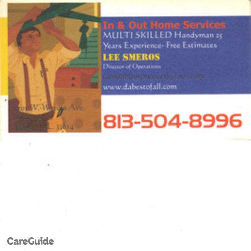 Handyman Provider Lee Smeros's Profile Picture