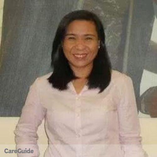 Canadian Nanny Provider Luzviminda S's Profile Picture