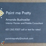 Painter in Forest Lake