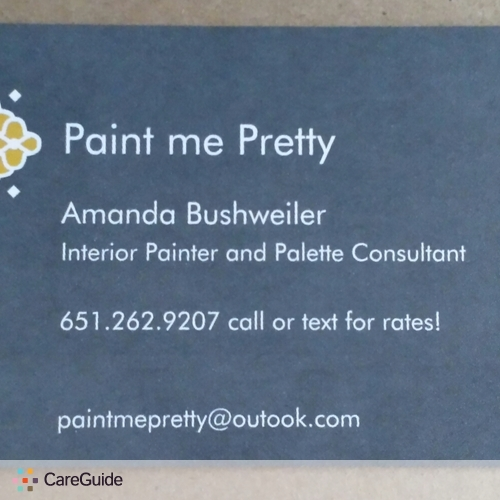 Painter Provider Amanda Bushweiler's Profile Picture