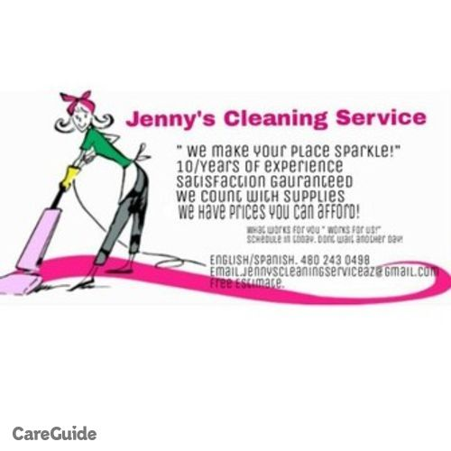 Housekeeper Provider Jenny's Cleaning Service's Profile Picture