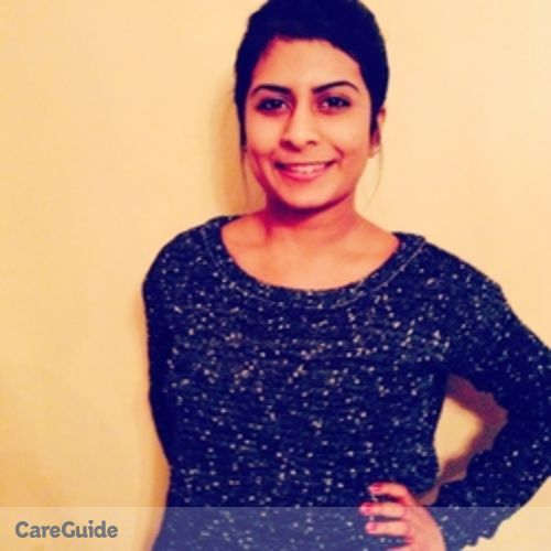 Canadian Nanny Provider Mathanky Jeyakumar's Profile Picture