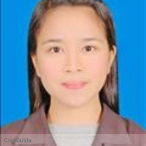 Canadian Nanny Provider Aiza Allam's Profile Picture