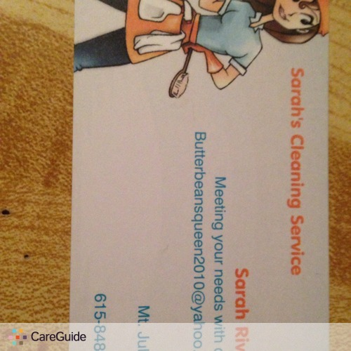 Housekeeper Provider Sarah R's Profile Picture