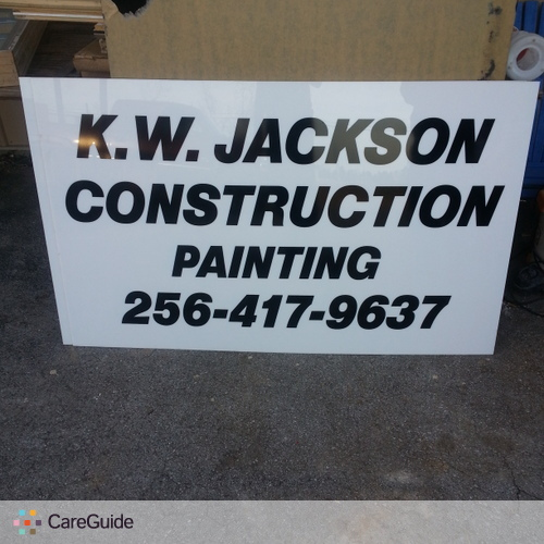 Painter Provider K.W Jackson construction Home Repair/Painting's Profile Picture