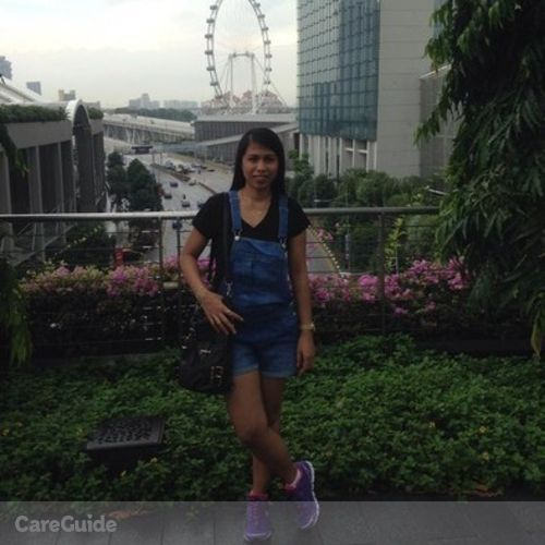 Canadian Nanny Provider Florelyn Bautista's Profile Picture