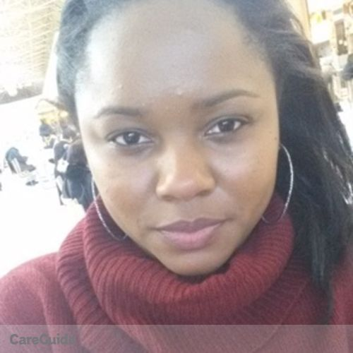 Canadian Nanny Provider Akeya D's Profile Picture