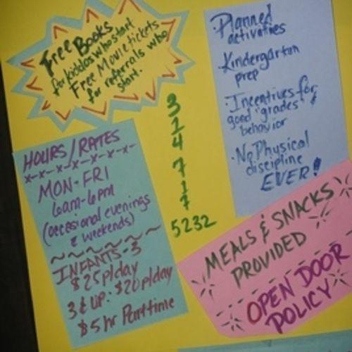 Child Care Provider Terri Adamson Gallery Image 1