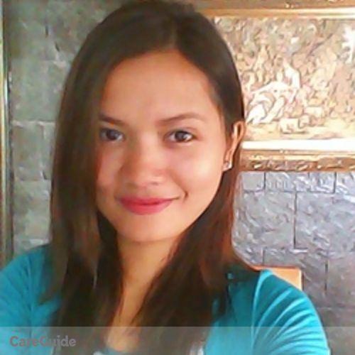 Canadian Nanny Provider Rosa Ria Caraig's Profile Picture