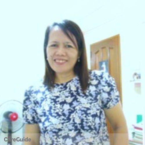 Canadian Nanny Provider Ma. Fe M's Profile Picture