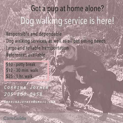 Pet Care Provider Corrina Joyner's Profile Picture
