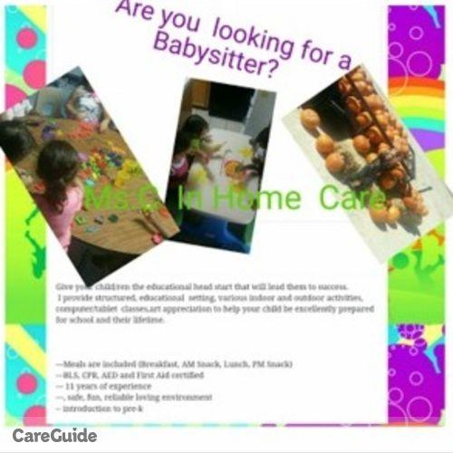 Child Care Provider Ms:C Dominique's Profile Picture