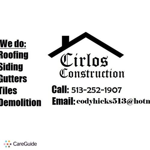 Roofer Provider Cody H's Profile Picture