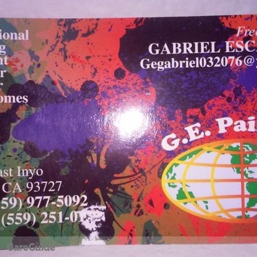 Painter Provider Gabriel Escamilla's Profile Picture