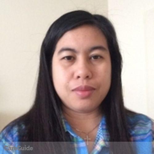 Canadian Nanny Provider Joegie Estares's Profile Picture