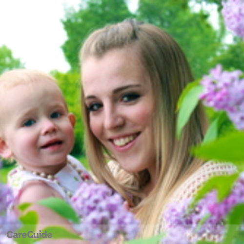 Canadian Nanny Provider Michaela Bienert's Profile Picture