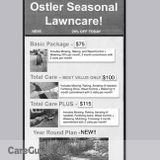 Ostler Seasonal Landscaping! COMPLETE LANDSCAPING FOR THE LOWEST PRICE!
