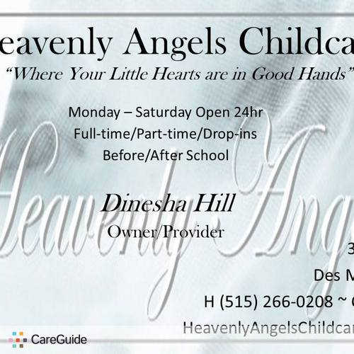 Child Care Provider Dinesha H's Profile Picture