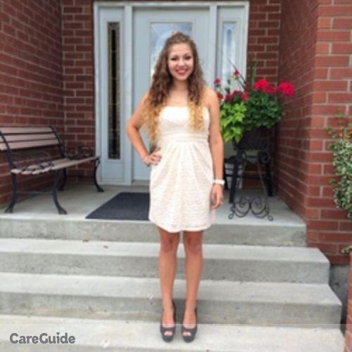Canadian Nanny Provider Alexandra T's Profile Picture