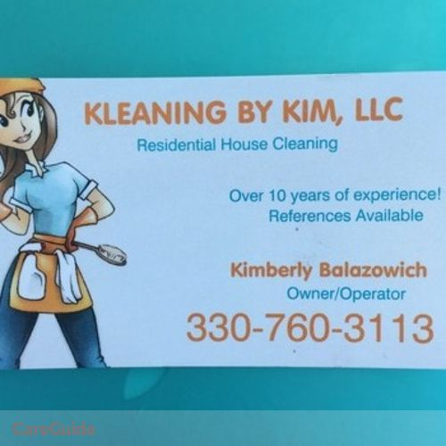 Housekeeper Provider Kimberly Balazowich's Profile Picture