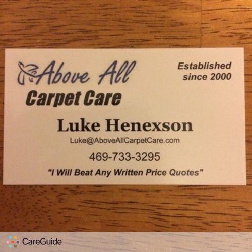 Housekeeper Provider Luke Henexson's Profile Picture