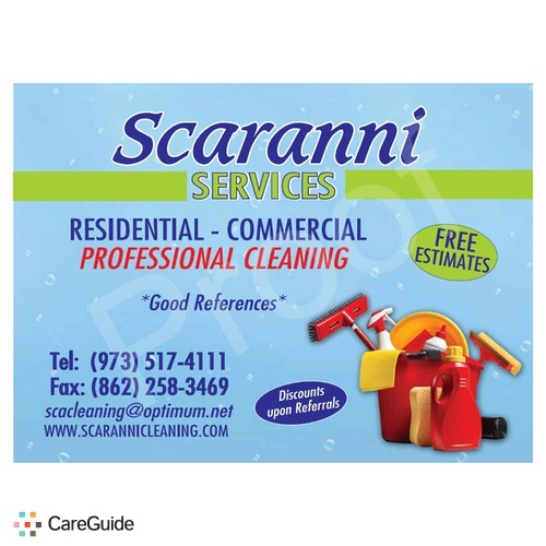 Housekeeper Provider Scaranni Services's Profile Picture