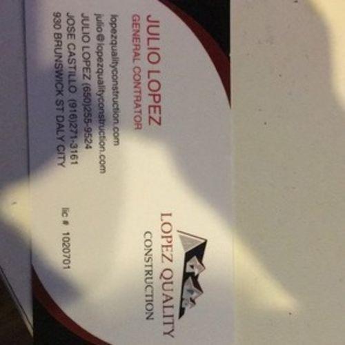 Handyman Provider Julio Lopez's Profile Picture