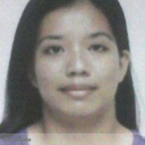 Canadian Nanny Provider Glhaisa Shema Regacho's Profile Picture