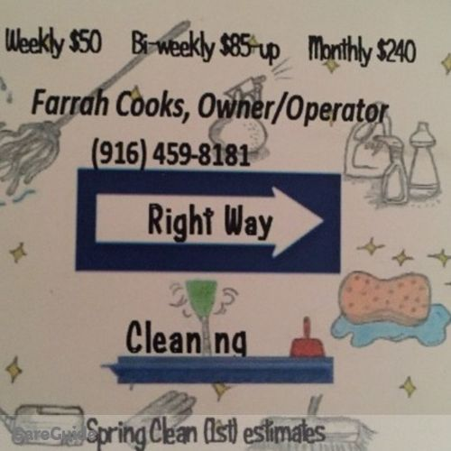 Housekeeper Provider Farrah Cooks's Profile Picture