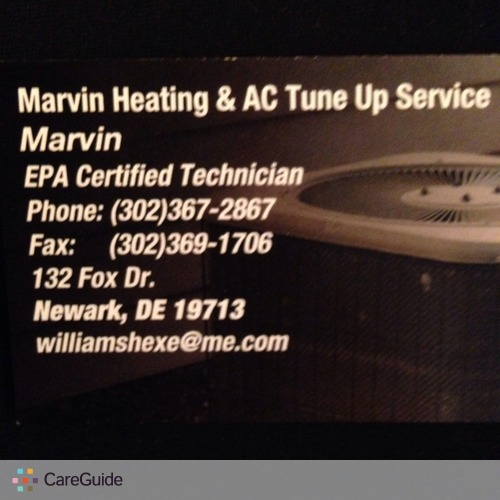 Handyman Provider Marvin Williams's Profile Picture