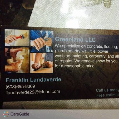 Handyman Provider Franklin Landaverde 's Profile Picture