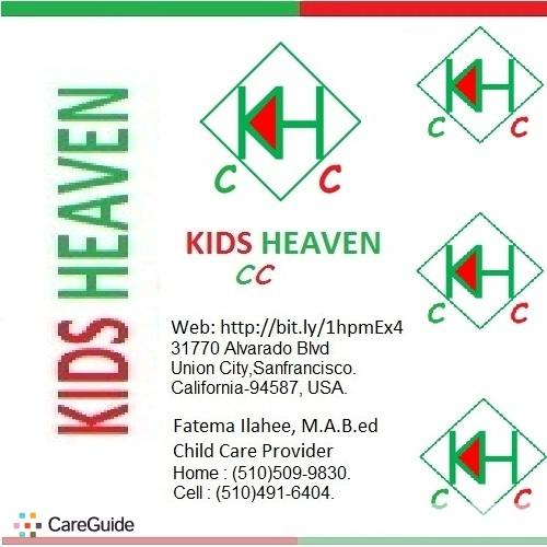 Child Care Provider Fatema Ilahee's Profile Picture