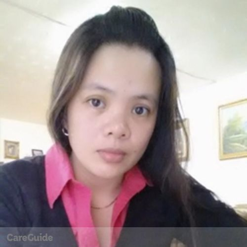 Canadian Nanny Provider Gregoria Alilio's Profile Picture