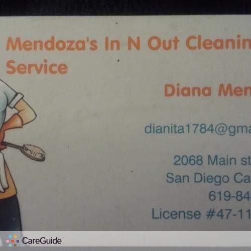 Housekeeper Provider Diana Mendoza's Profile Picture