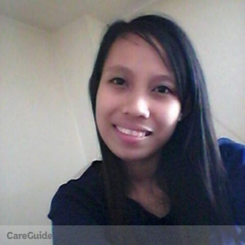 Canadian Nanny Provider Zaira Dacapias's Profile Picture