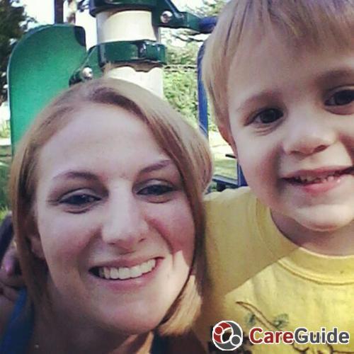 Child Care Provider Amy A's Profile Picture