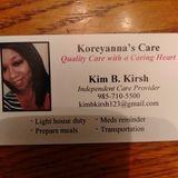 Wonderful Elder Care Provider With References