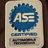 ASE certified automotive technician