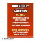 University First Class Painters Looking For Summer Painters